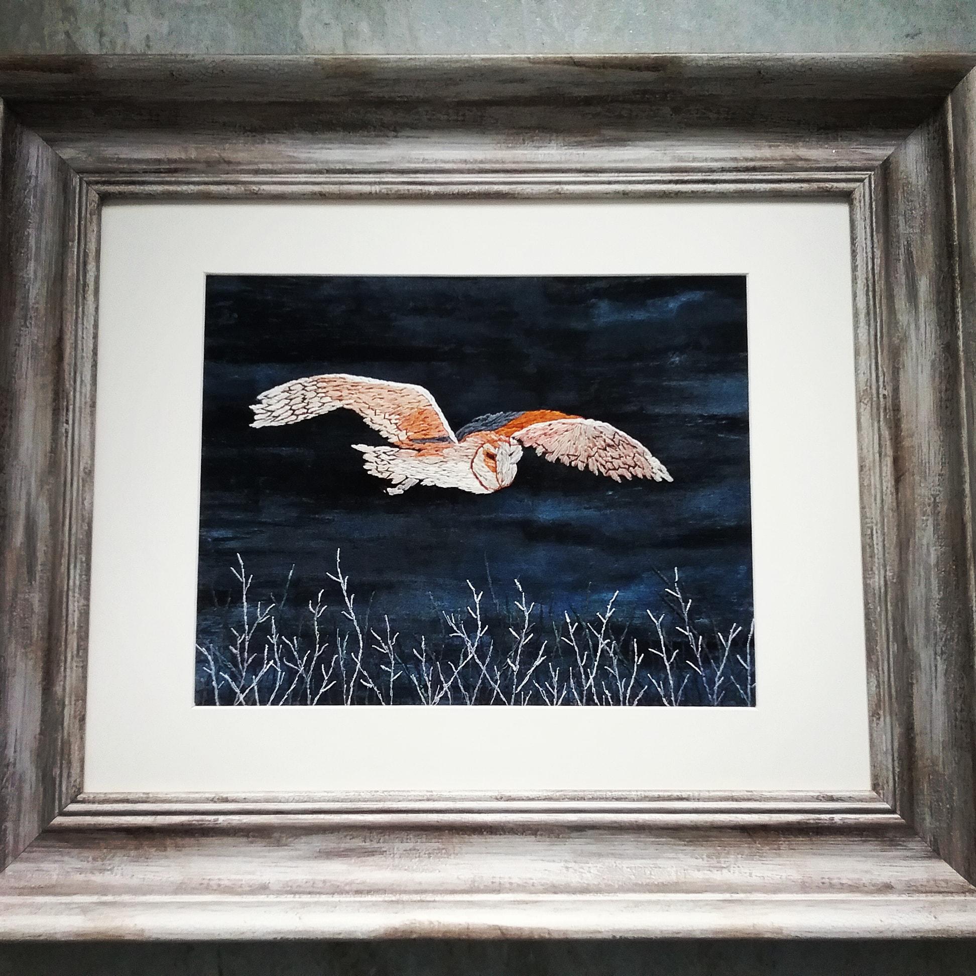Deborah Tiltman - Barn Owl in Flight